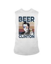 Vintage Drinking Beer Clinton Shirt Sleeveless Tee thumbnail