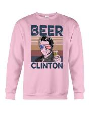 Vintage Drinking Beer Clinton Shirt Crewneck Sweatshirt thumbnail