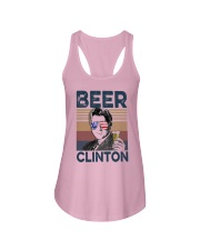 Vintage Drinking Beer Clinton Shirt Ladies Flowy Tank thumbnail