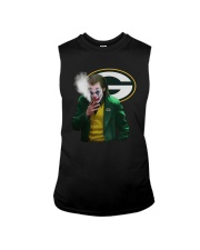 Green Bay Packers Joker Smoking Shirt Sleeveless Tee thumbnail