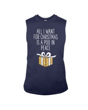 All I Want For Christmas Is A Poo In Peace Shirt Sleeveless Tee thumbnail