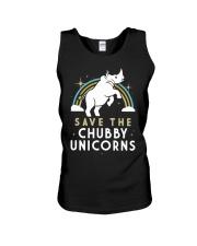 Rainbow Save The Chubby Unicorns Shirt Unisex Tank thumbnail