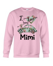 Flower Truck I Love Being Mimi Shirt Crewneck Sweatshirt thumbnail
