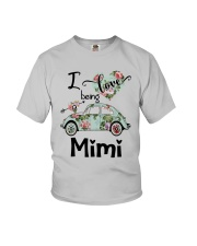 Flower Truck I Love Being Mimi Shirt Youth T-Shirt thumbnail