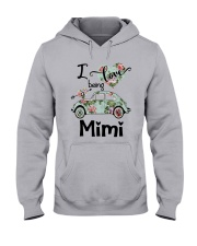 Flower Truck I Love Being Mimi Shirt Hooded Sweatshirt thumbnail