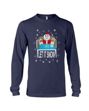 Walmart Let It Snow Shirt Long Sleeve Tee thumbnail