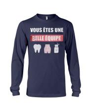 Vous Êtes Une Belle Équipe Shirt Long Sleeve Tee thumbnail