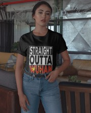 Straight Outta Wuhan Shirt Classic T-Shirt apparel-classic-tshirt-lifestyle-05