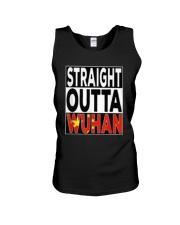 Straight Outta Wuhan Shirt Unisex Tank thumbnail