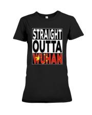 Straight Outta Wuhan Shirt Premium Fit Ladies Tee thumbnail