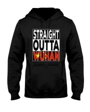 Straight Outta Wuhan Shirt Hooded Sweatshirt thumbnail