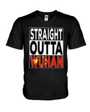 Straight Outta Wuhan Shirt V-Neck T-Shirt thumbnail