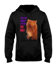 This Cat Wants To Tax The Rich Shirt Hooded Sweatshirt thumbnail