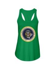 Photoshopped Trump's Presidential Seal Shirt Ladies Flowy Tank thumbnail