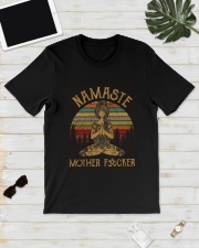 Sunset Namaste Mother Fucker Shirt Classic T-Shirt lifestyle-mens-crewneck-front-17