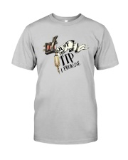 Tattoo Machine Just The Tip I Promise Shirt Classic T-Shirt tile