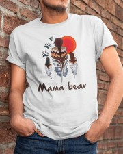 Native Feather Mama Bear Shirt Classic T-Shirt apparel-classic-tshirt-lifestyle-26