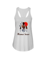 Native Feather Mama Bear Shirt Ladies Flowy Tank thumbnail