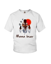 Native Feather Mama Bear Shirt Youth T-Shirt thumbnail
