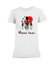 Native Feather Mama Bear Shirt Premium Fit Ladies Tee thumbnail