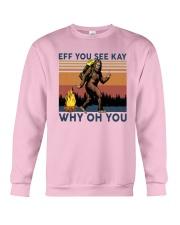 Vintage Bigfoot Eff You See Kay Why Oh You I Shirt Crewneck Sweatshirt thumbnail