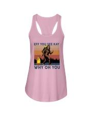 Vintage Bigfoot Eff You See Kay Why Oh You I Shirt Ladies Flowy Tank thumbnail