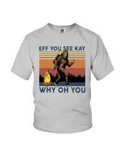 Vintage Bigfoot Eff You See Kay Why Oh You I Shirt Youth T-Shirt thumbnail