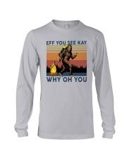 Vintage Bigfoot Eff You See Kay Why Oh You I Shirt Long Sleeve Tee thumbnail