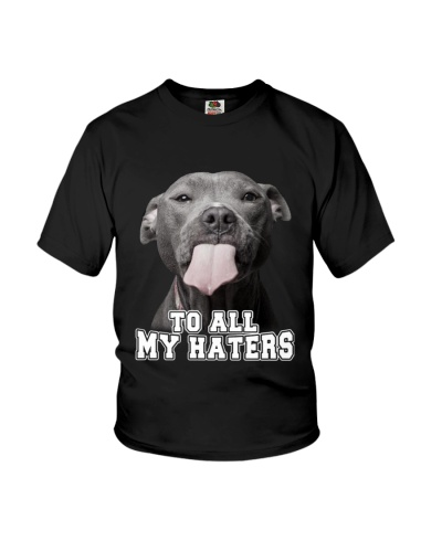 Pittbull To All My Haters Shirt