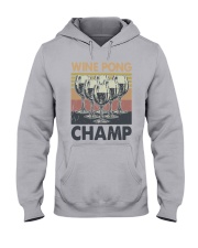 Vintage Wine Pong Champ Shirt Hooded Sweatshirt thumbnail
