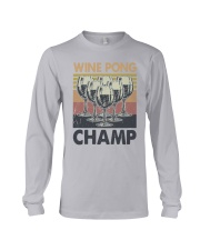 Vintage Wine Pong Champ Shirt Long Sleeve Tee thumbnail
