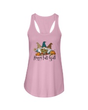 Gnomies Happy Fall Y'all Shirt Ladies Flowy Tank thumbnail