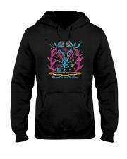 Follow Me Into The Void Shirt Hooded Sweatshirt thumbnail