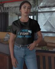 Here Fishy Fishy Fishy Shirt Classic T-Shirt apparel-classic-tshirt-lifestyle-05