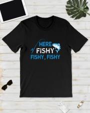Here Fishy Fishy Fishy Shirt Classic T-Shirt lifestyle-mens-crewneck-front-17