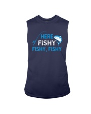 Here Fishy Fishy Fishy Shirt Sleeveless Tee tile