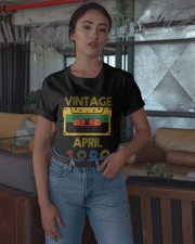 Video Tape Vintage April 1980 Shirt Classic T-Shirt apparel-classic-tshirt-lifestyle-05