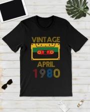 Video Tape Vintage April 1980 Shirt Classic T-Shirt lifestyle-mens-crewneck-front-17