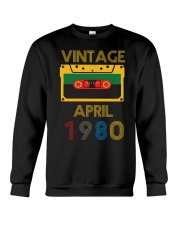 Video Tape Vintage April 1980 Shirt Crewneck Sweatshirt thumbnail