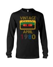Video Tape Vintage April 1980 Shirt Long Sleeve Tee thumbnail