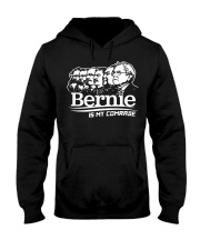 Bernie Is My Comrade Shirt Hooded Sweatshirt thumbnail