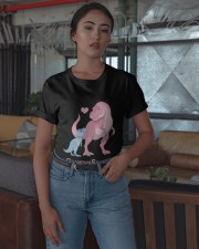 Dinosaur Grandma Saurus Shirt Classic T-Shirt apparel-classic-tshirt-lifestyle-05