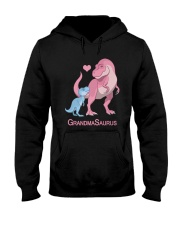 Dinosaur Grandma Saurus Shirt Hooded Sweatshirt thumbnail