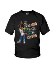 Black Magic Girl Phenomenal My Melanin Game Shirt Youth T-Shirt thumbnail
