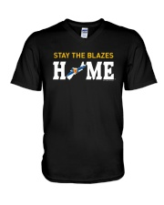Stay The Blazes Home T Shirt V-Neck T-Shirt thumbnail