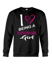 I Love Being A Tupperware Girl Shirt Crewneck Sweatshirt thumbnail