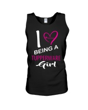 I Love Being A Tupperware Girl Shirt Unisex Tank thumbnail