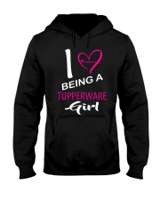I Love Being A Tupperware Girl Shirt Hooded Sweatshirt thumbnail