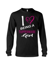 I Love Being A Tupperware Girl Shirt Long Sleeve Tee thumbnail
