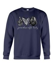 Peace Love Dark Side Shirt Crewneck Sweatshirt thumbnail